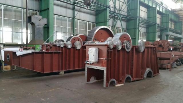 Reduktor bagera SRs-2000, prstenovi za zupčanike do ø 3500 / materijal 42CrMo4+QT, 18CrNiMo7-6 / mesto isporuke: Srbija