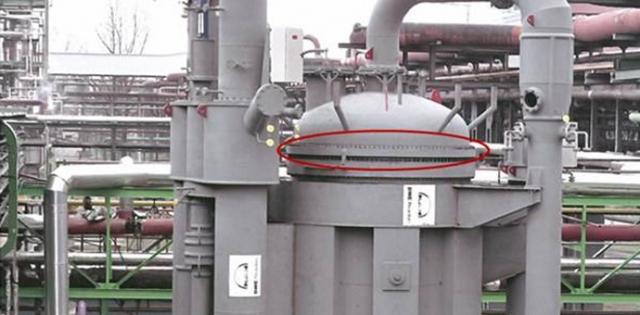 Reaktor, 5 prstenova do ø 7560/7365 x 508 mm / materijal SA336 F1 Cl3 i SA350LF2 / mesto isporuke: Nemačka
