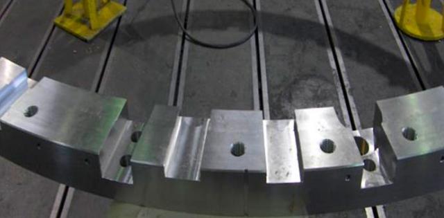 Nuklearni reaktor, stalna isporuka prstenova do ø 4000 mm / materijal X2CrNiMo 18-9 / mesto isporuke: Italija