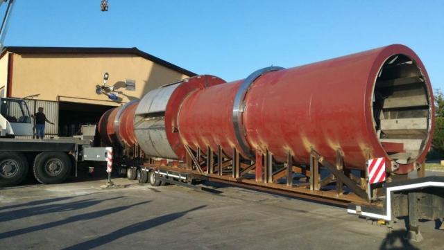 Sušara za šećeranu, prstenovi i gonjeni zupčanik, prečnik do 3000mm / materijal 42CrMo4+QT / mesto isporuke: Srbija
