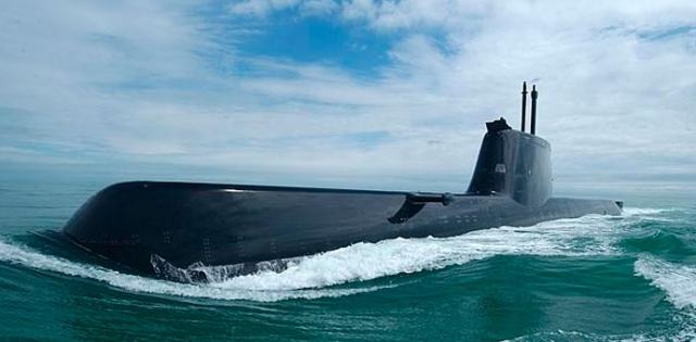 Dizel podmornica, prstenovi prečnika od ø 5000 mm do ø 7600 mm / materijal HY80