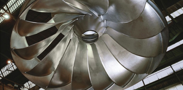 Francisova turbina, 6 prestenova ø 6302/5748 x 316 mm / materijal X3CrNiMo13-4 / mesto isporuke: Austrija